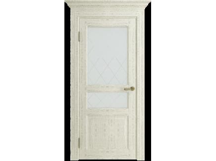 Двери межкомнатные Uberture Версаль ПДО-40006 ясень перламутровый