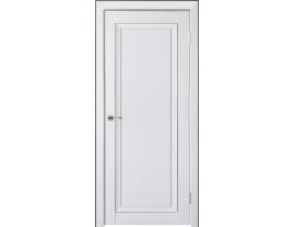 Двери межкомнатные Uberture Деканто ПДГ 2 бархат белый черн вставка и нал 1к