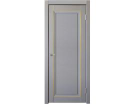 Двери межкомнатные Uberture Деканто ПДГ 2 бархат серый золото