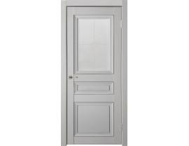 Двери межкомнатные Uberture Деканто ПДО 3 бархат св сер