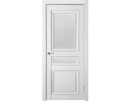 Двери межкомнатные Uberture Деканто ПДО 4 бархат бел