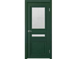 Двери межкомнатные Uberture Деканто ПДО 4 бархат зел
