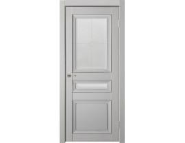 Двери межкомнатные Uberture Деканто ПДО 4 бархат св сер