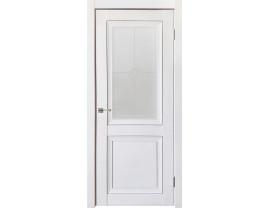 Двери межкомнатные Uberture Деканто ПДО 1 бархат белый
