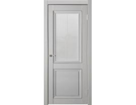 Двери межкомнатные Uberture Деканто ПДО 1 бархат св серый