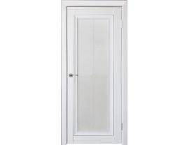 Двери межкомнатные Uberture Деканто ПДО 2 бархат белый сер вставка и нал 1к