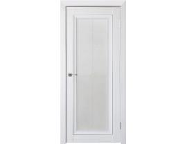 Двери межкомнатные Uberture Деканто ПДО 2 бархат белый сер вставка