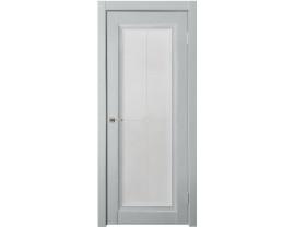 Двери межкомнатные Uberture Деканто ПДО 2 бархат лайт грей серебро