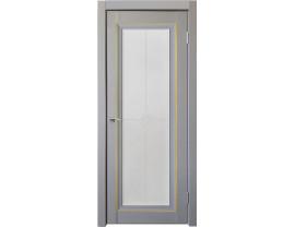 Двери межкомнатные Uberture Деканто ПДО 2 бархат серый золото