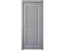 Двери межкомнатные Uberture Деканто ПДО 2 бархат серый серебро
