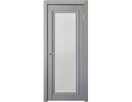 Двери межкомнатные Uberture Деканто ПДО 2 бархат серый