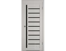 Двери межкомнатные VFD Atum 11 bianco black gloss