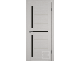 Двери межкомнатные VFD Atum 16 bianco black gloss