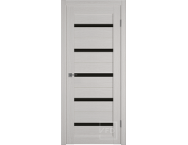 Двери межкомнатные VFD Atum 7 bianco black gloss