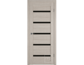 Двери межкомнатные VFD Atum 7 cappuccino black gloss