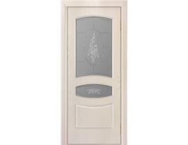 Двери межкомнатные Лайн-Дор Багетная Серия Алина тон 27 ст. Роза 3D