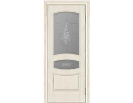 Двери межкомнатные Лайн-Дор Багетная Серия Алина тон 34 ст. Роза наливка светлое