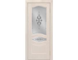 Двери межкомнатные Лайн-Дор Багетная Серия Амелия тон 27 ст. Византия