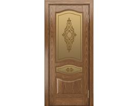 Двери межкомнатные Лайн-Дор Багетная Серия Амелия тон 45 ст. Айрис бронза