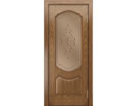 Двери межкомнатные Лайн-Дор Багетная Серия Богема тон 45 ст. Вива бронза
