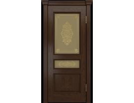 Двери межкомнатные Лайн-Дор Багетная Серия Калина-ПН тон 30 ст. Дамаск бронза заливка золото