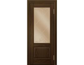 Двери межкомнатные Лайн-Дор Багетная Серия Кантри П тон 35 ст. Узор бронза