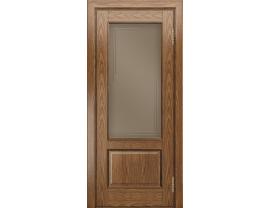 Двери межкомнатные Лайн-Дор Багетная Серия Кантри П тон 45 ст. Дуэт бронза