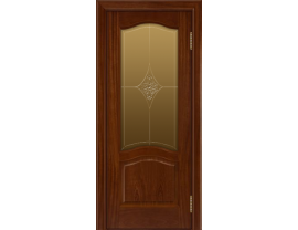 Двери межкомнатные Лайн-Дор Багетная Серия Пронто тон 10 ст.Амелия 3D бронза