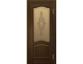 Двери межкомнатные Лайн-Дор Багетная Серия Пронто тон 35 ст. Айрис бронза