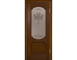 Двери межкомнатные Лайн-Дор Багетная Серия Селеста тон 30 ст. Бабочка бронза
