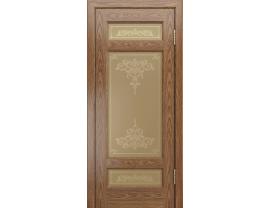 Двери межкомнатные Лайн-Дор Калевочная Серия Мишель К тон 45 ст. Лира бронза