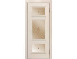Двери межкомнатные Лайн-Дор Коллекция Классика Афина тон 27 ст. Лилия бронза