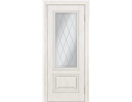 Двери межкомнатные Лайн-Дор Коллекция Классика Виолетта тон 38 ст. Англия светлое