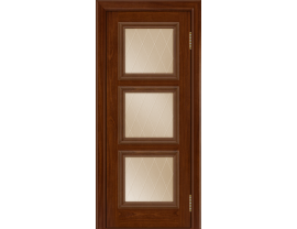 Двери межкомнатные Лайн-Дор Коллекция Классика Грация тон 10 ст. Лондон бронза