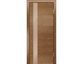 Двери межкомнатные Лайн-Дор Погонажная серия Камелия К тон 45 ст. Светло-коричневый лак