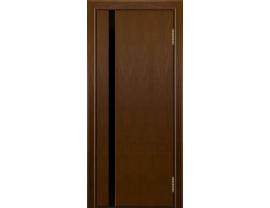 Двери межкомнатные Лайн-Дор Погонажная серия Камелия К1 тон 30 черный триплекс