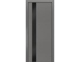 Двери межкомнатные Лайн-Дор Погонажная серия Камелия К5 тон 47 ст. Черный лак