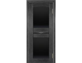 Двери межкомнатные Лайн-Дор Погонажная серия Кристина тон 22 ст. Черное полное