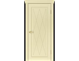 Двери межкомнатные Лайн-Дор Серия Color Валенсия К эмаль Бисквит глухая