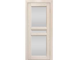 Двери межкомнатные Лайн-Дор Укутанная Серия Кристина 2 тон 27 ст. Белое полное
