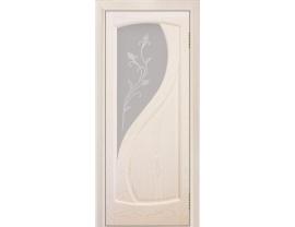Двери межкомнатные Лайн-Дор Укутанная Серия Новый стиль 2 ст. Ирис светлое