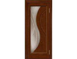 Двери межкомнатные Лайн-Дор Укутанная Серия Прага 2 тон 10 ст. Волна бронза