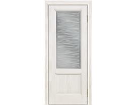 Двери межкомнатные Лайн-Дор Укутанная Серия Эстела тон 38 ст. Волна