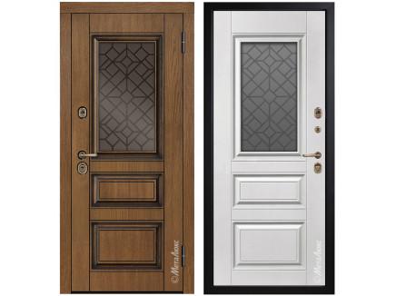 Двери входные Металюкс GrandWood М465_17