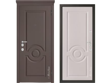 Двери входные Металюкс Milano М1000.11 Е